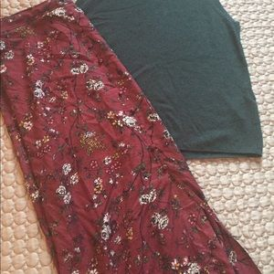 ✨NEW✨ Mossimo Supply Maxi Skirt
